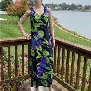 Positive Attitude Multicolored V-Neck Sheath Dress